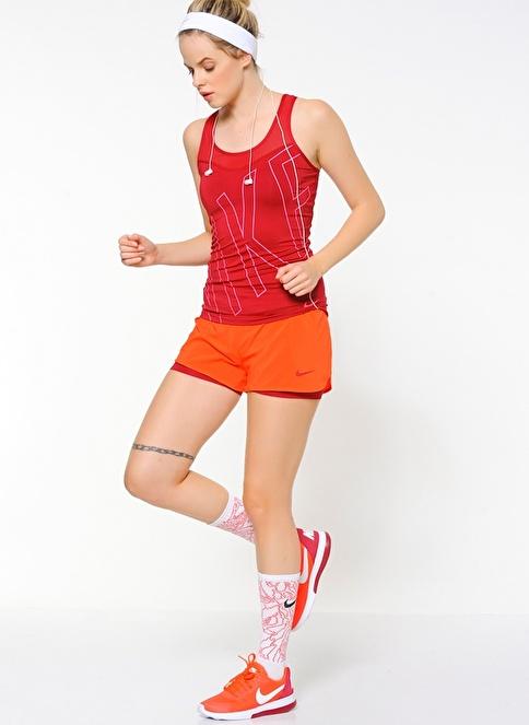 Nike Şort | Taytlı Şort Kırmızı